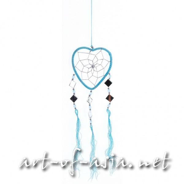 Bild 2 - Traumfänger, Herz, verschiedene Größen, River Blue