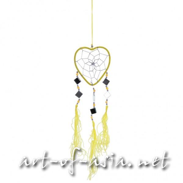 Bild 2 - Traumfänger, Herz, verschiedene Größen, Maize