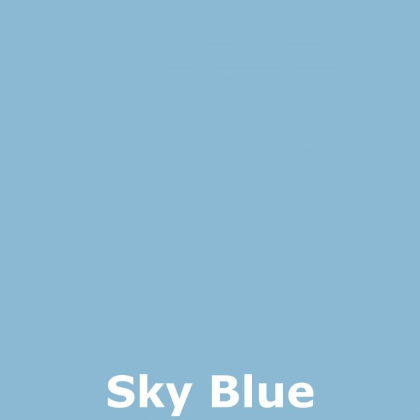 Bild 2 - Bali-Tempelschirm, 090cm Ø, Sky Blue / silber