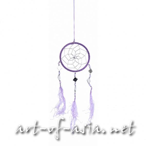 Bild 2 - Traumfänger, rund, verschiedene Größen, Violet Tulip