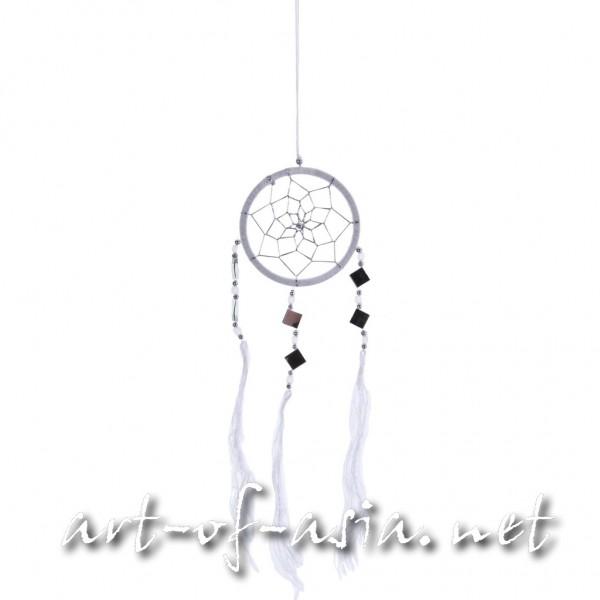 Bild 2 - Traumfänger, rund, verschiedene Größen, Blanc de Blanc
