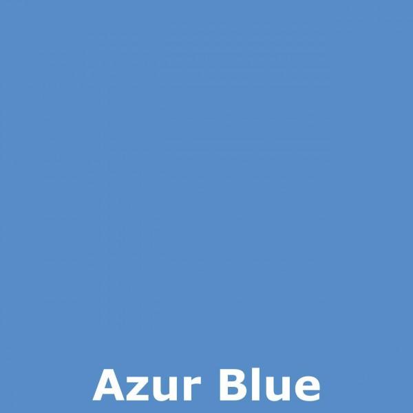 Bild 2 - Bali-Dekoschirm 2-fach, Azur Blue / silber, silber bemalt