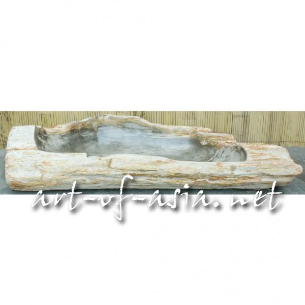 Bild 2 - Schale, 116cm, versteinertes Holz