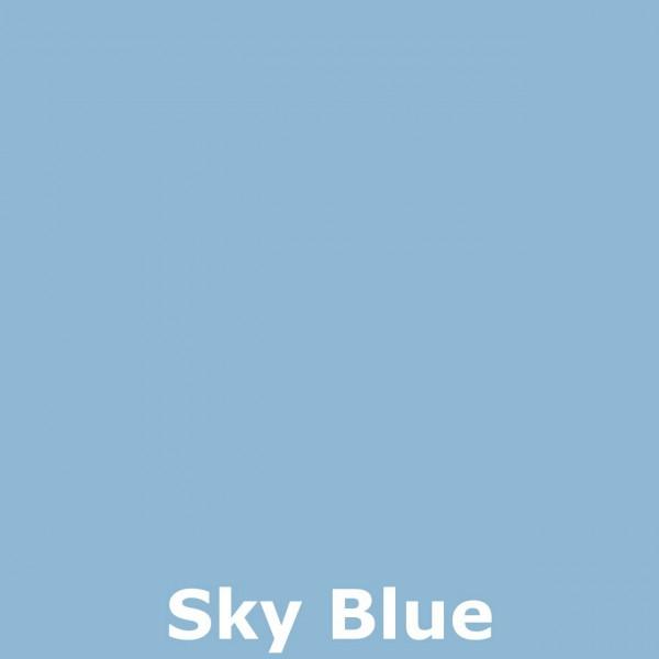Bild 2 - Bali-Dekoschirm 3-fach, Sky Blue / gold
