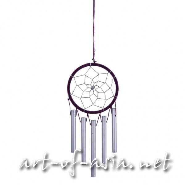 Bild 2 - Traumfänger, rund, Windspiel, verschiedene Größen, Royal Purple