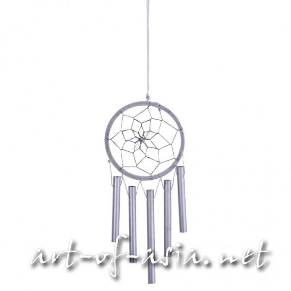 Bild 2 - Traumfänger, rund, Windspiel, verschiedene Größen, Blanc de Blanc