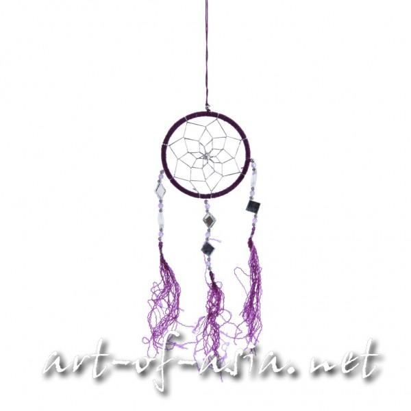 Bild 2 - Traumfänger, rund, verschiedene Größen, Royal Purple