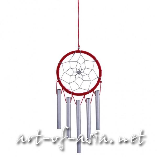 Bild 2 - Traumfänger, rund, Windspiel, verschiedene Größen, Rose Red